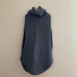 French Connection pull over cable knit tunic